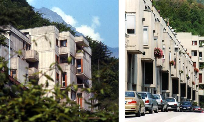 Case a longarone with case da architetti for Case progettate da architetti