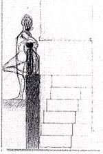 Querini Stampalia: schizzo della scala